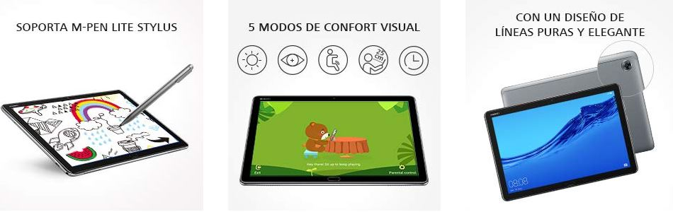 Características principales Huawei MediaPad M5 Lite 10